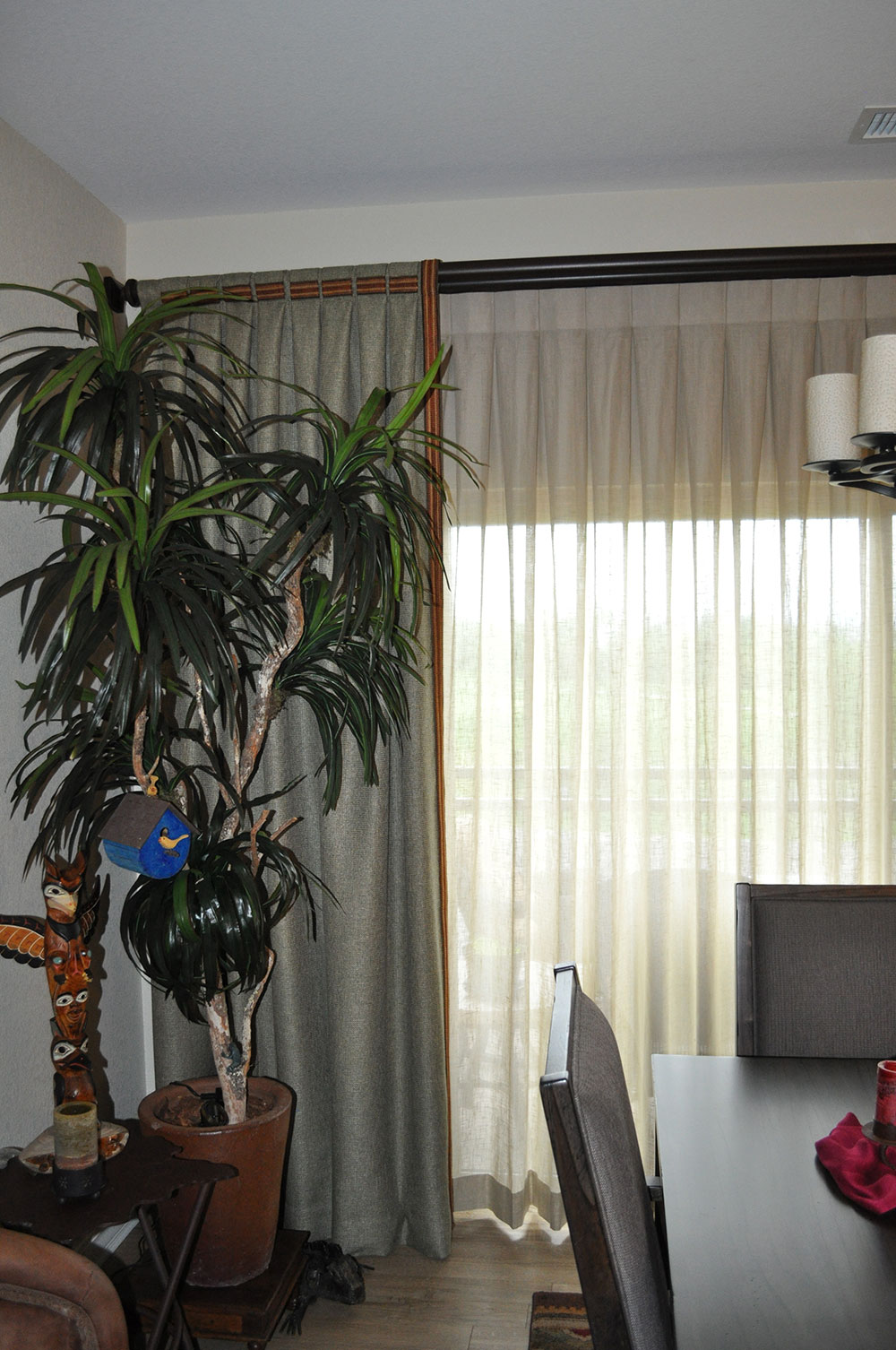 curtains over large window